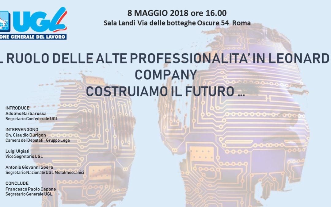 Dibattito sul ruolo attuale e futuro delle alte professionalità di Leonardo