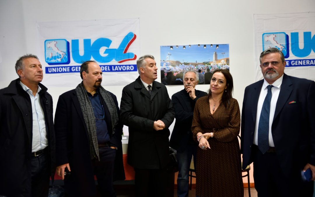 Inaugurata la nuova sede zonale UGL UTL Formello