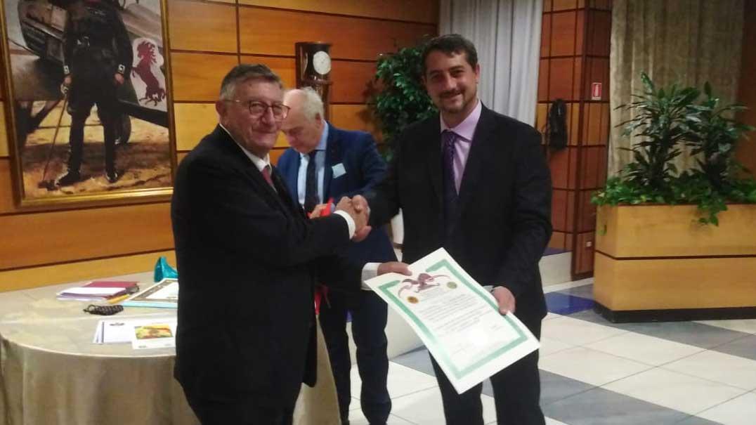 Riconoscimenti per la Segreteria UGLM Roma da parte della Norman Academy