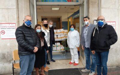 La solidarietà alla base del nostro operato: UGLM Roma dona 100 pandori al Pronto Soccorso Pediatrico